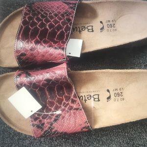 Birkenstock Betula Sandals NWT 9